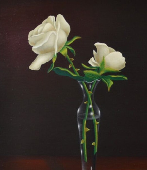 Acrylic Floral Paintings