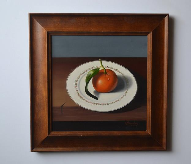 Leafy Tangerine by Margo Munday